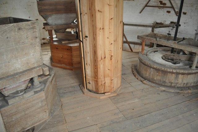 Haddenham Great Mill - Stone Floor