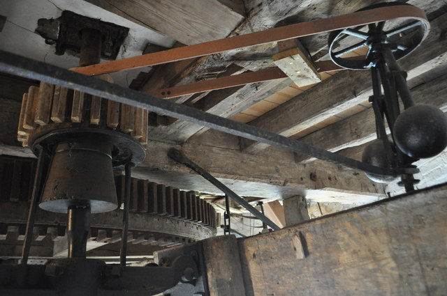 Haddenham Great Mill - Stone Nut and Governor