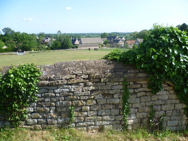 Churchyard wall