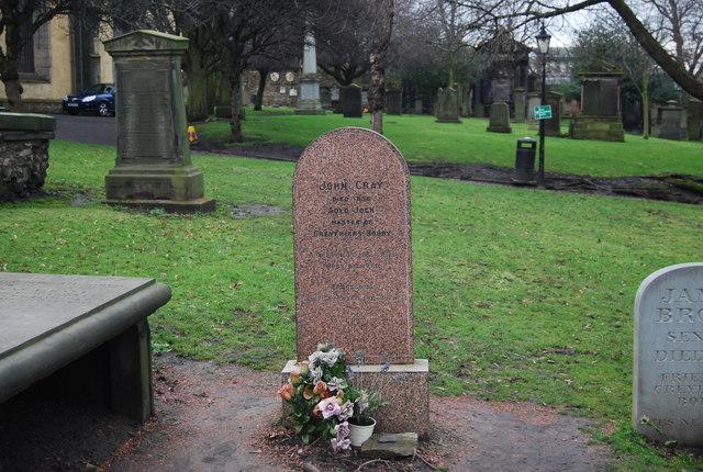 John Grays Grave, Greyfriars