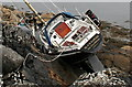 NM6661 : Black badger set on the rocks by Des Colhoun