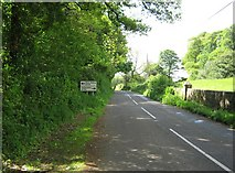 NX9257 : B793 looking towards the A710 by Ann Cook