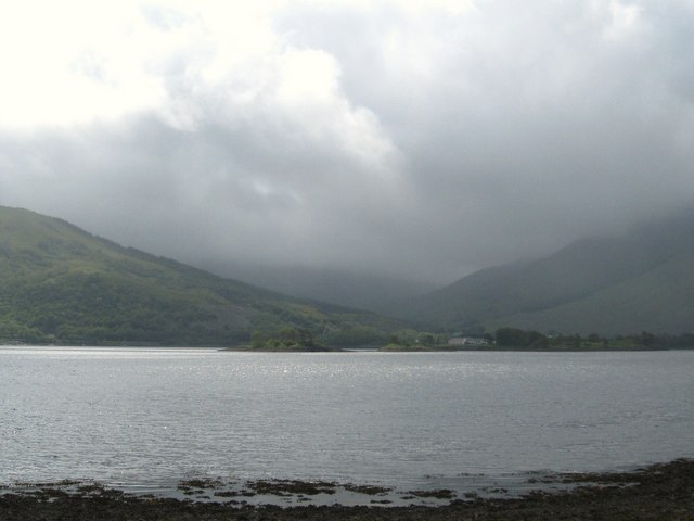 Gathering clouds over Loch Leven