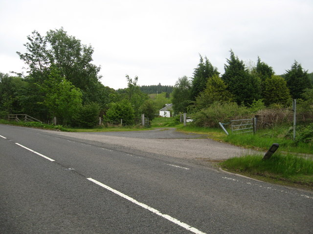 Entrance to Mill Farm near Balcardine