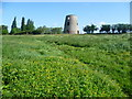 TL1296 : The remains of Castor Windmill by Marathon