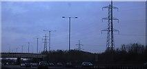 TQ0481 : Pylons by the M25 by N Chadwick