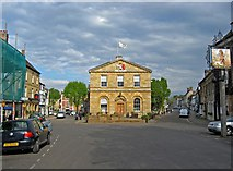 SP4416 : The Town Hall (1), Woodstock by P L Chadwick