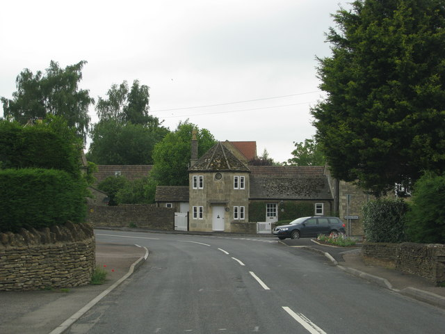 Old toll house in Acton Turville