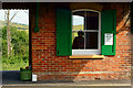 SZ6086 : Brading Railway Station, Isle of Wight by Peter Trimming