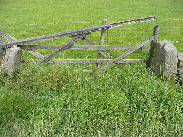 Gate at Lady Royd Farm, Wadsworth