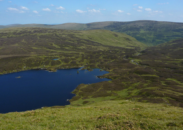 Loch Skeen from Mid Craig