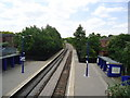 TQ1585 : Sudbury Hill Harrow railway station by Stacey Harris