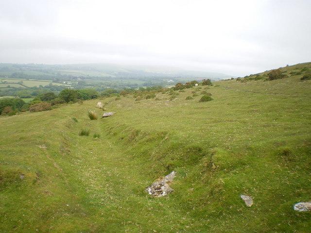 Ancient bridleway north of Foel Drygarn