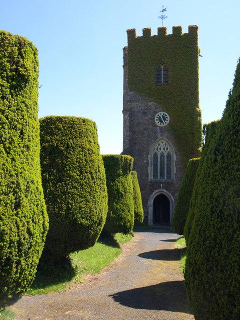 St Margaret's church, Stoodleigh