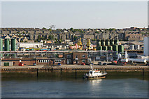NJ9505 : Pilot boat at Torry Quay, Aberdeen harbour by Mike Pennington