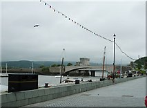 SH7877 : The Conwy bridges from Lower Gate Street by Dave Spicer