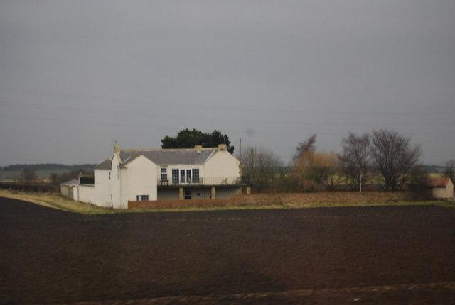 House on the edge of Widdrington Station
