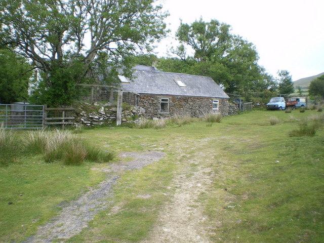Parc-y-Botty on the northern side of Foel Drygarn