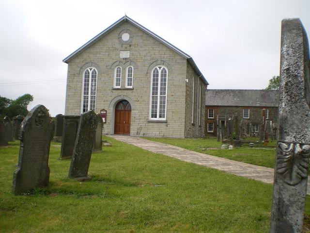 The Bethabara Baptist Chapel at Pontyglasier