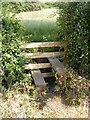 TM2066 : Stile of footpath to Hartesmere Grange by Adrian Cable
