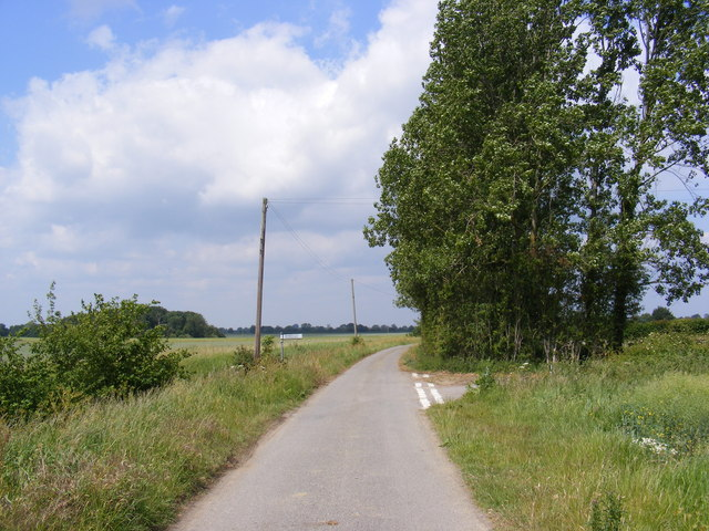 Country Road near Broadway Farm