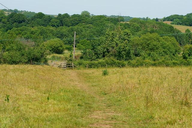 Footpath to Fairway Farm, Alverstone