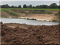 SJ8274 : Sand quarry at Bloors Pit. Extent of quarrying not discernible on OS map by marplerambler