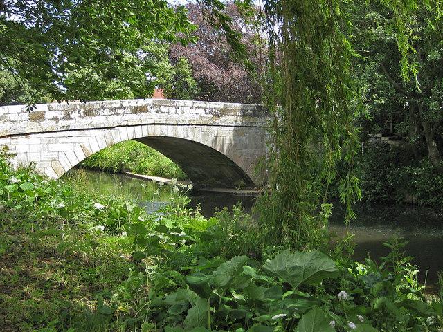 Sinnington Bridge over the River Seven