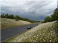 NZ1751 : A693 bypassing Annfield Plain by Trevor Littlewood