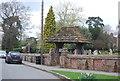TQ1131 : Lych Gate, Slinfold by N Chadwick