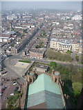 SJ3589 : Liverpool: northward view from cathedral tower by Chris Downer