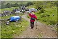 SD2193 : Farm Track to Kiln Bank by Tom Richardson