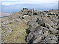 NM6427 : Summit, Creach Bheinn by Richard Webb