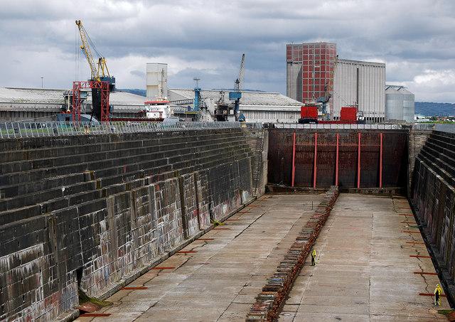 The Thompson Graving Dock, Belfast