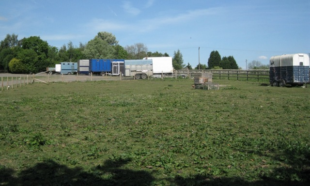 Horseboxes at Roman Meadow