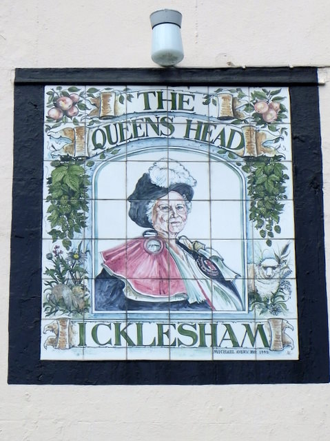 Sign for the Queens Head