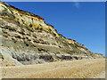 SZ1790 : Cliffs, Hengistbury Head by Maigheach-gheal