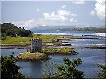 NM9247 : Castle Stalker by Gordon Brown