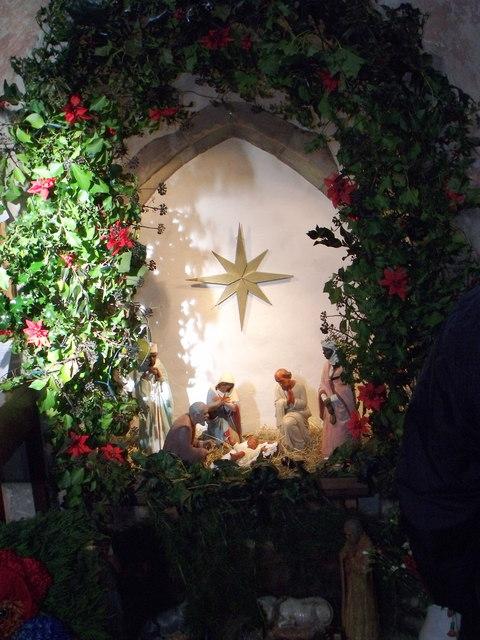 Nativity scene, St. Mary's, Barnham