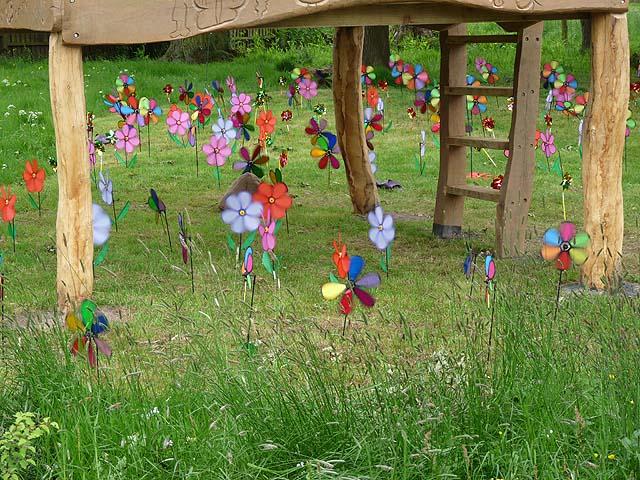 """Wooshy Spinny"" - windmills at Wreay Primary School"