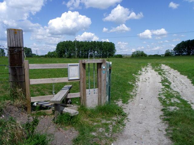 Access land, Charlton St Peter