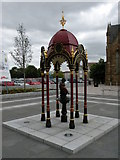 NS5565 : Aitken Memorial Fountain, Govan by Keith Edkins