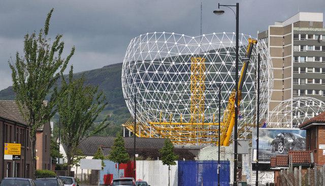 "The ""Rise"" sculpture, Belfast (11)"