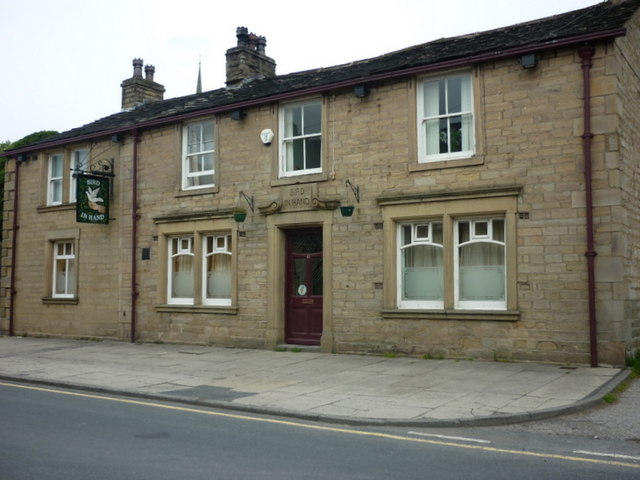 The Bird in Hand, a Sam Smith's pub in Newhey