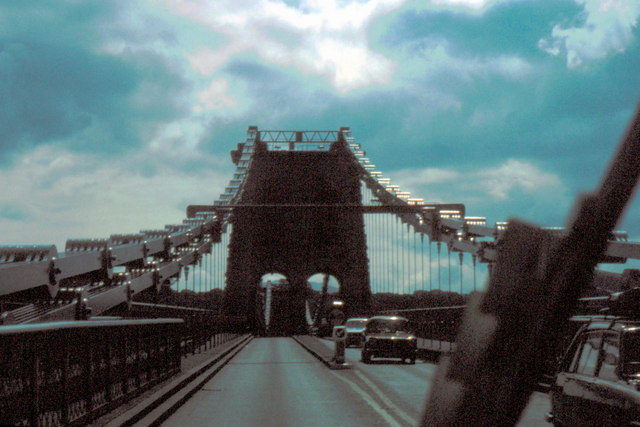 Menai Suspension Bridge - 1980