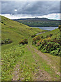 NG3734 : Track to Loch Harport by Richard Dorrell