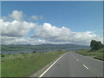NH5857 : A9 (T) descending towards the Cromarty Firth by Stuart Logan