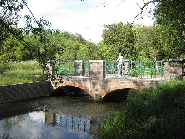 Cole Valley footbridge