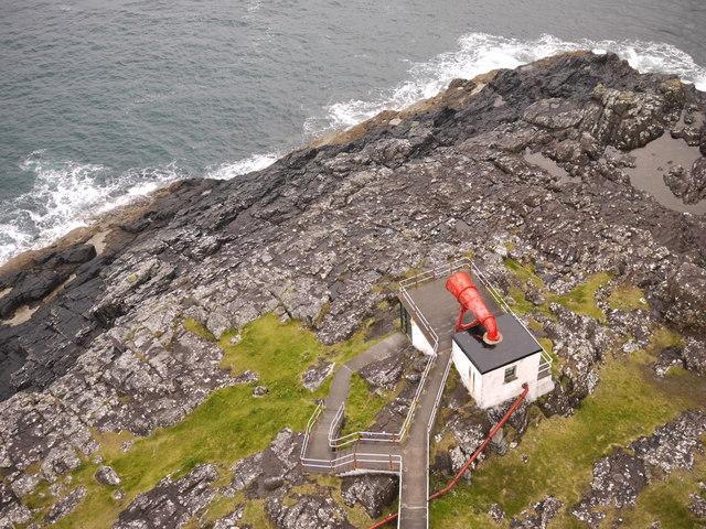 Foghorn at Ardnamurchan lighthouse