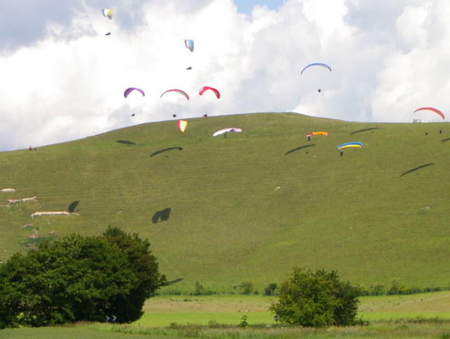 Paragliding, Clifford Hill